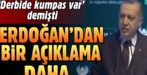 Cumhurbaşkanı Erdoğan Yeşilay Zümrüdüanka Ödül Töreni'nde konuştu