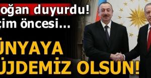 Cumhurbaşkanı Erdoğan duyurdu: Dünyaya müjdemiz olsun!