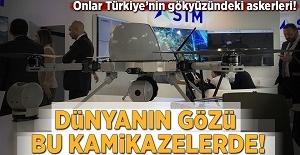 Dünyanın gözü bu kamikazelerde! Onlar Türkiye'nin gökyüzündeki askerleri!