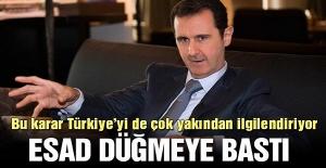 Esad düğmeye bastı! Bu hamle en çok Türkiye'yi ilgilendiriyor…