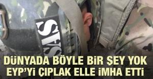 Korkusuz Türk askerinden inanılmaz hareket