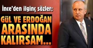 Muharrem İnce'den ilginç Abdullah Gül - Erdoğan çıkışı