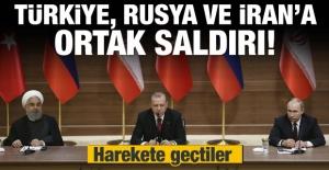 Rusya, Türkiye ve İran'a ortak saldırı!