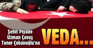 Şehit Piyade Uzman Çavuş Taner Çobanoğlu'na veda...