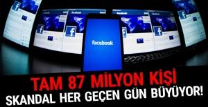 Skandal tahmin edilenden de büyük çıktı: Tam 87 milyon kişi!