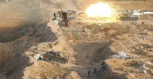 Son dakika... Görüntüler ortaya çıktı! Tanklar ve füzeler ateş etti!