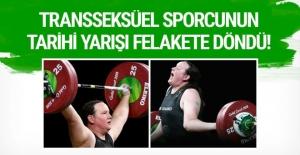 Transseksüel haltercinin tarihi yarışı felakete döndü!