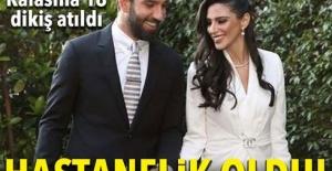 Arda Turan'ın eşi Aslıhan Doğan Turan hastanelik oldu