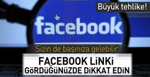 Büyük tehlike! Sizinde başınıza gelebilir! Facebook linki gördüğünüzde dikkat edin!