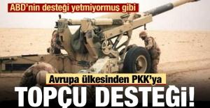 Fransız askerlerinden YPG/PKK'ya topçu desteği!