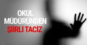 İlkokul müdüründen yardımcısına şiirli taciz