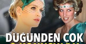Lady Diana'nın yeğeni Kitty Spencer kraliyet düğününe damgasını vurdu
