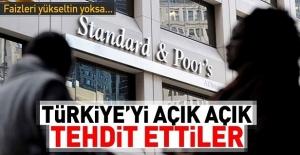 Türkiye'yi açık açık tehdit ettiler! 'Faizleri yükseltin yoksa...'