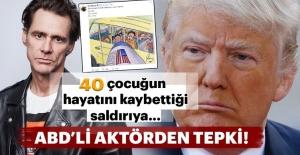 40 çocuğun hayatını kaybettiği saldırıya ABD'li aktörden tepki!