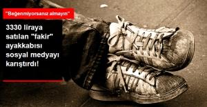 """3330 Liraya Satılan Eskimiş Görünümlü Ayakkabı, Sosyal Medyada """"Fakirlikle Alay Ediliyor"""" Tartışması Yarattı!"""