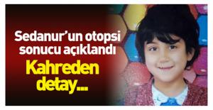 9 Yaşındaki Minik Sedanur'un Sonuçları Çıktı…