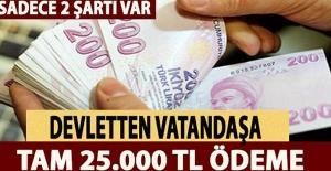 Devletten 25 bin 532 lira!!!!BAKIN NASIL