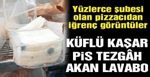 Dünyaca ünlü pizza zincirinden mide bulandıran görüntüler… Türkiye'de de şubesi var!