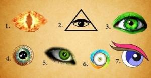 Sadece Bir 'GÖZ' Seçin! Bu Test Bilinçaltınızda Yatan Gerçekleri Ortaya Çıkaracak!
