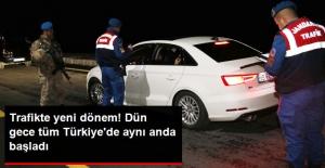 Trafik Cezalarında Yeni Dönem, Dün Gece Tüm Türkiye'de Aynı Anda Başladı...
