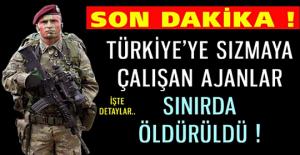 Türkiye'ye sızmaya çalışırken hepsi paketlendi