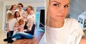 10 çocuk annesi kadın fiziğiyle görenleri hayrete düşürdü