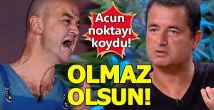 Acun'dan Masterchef Murat hakkında çok sert açıklama