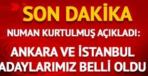 AK Parti'nin İstanbul ve Ankara adayları belli oldu! Numan Kurtulmuş duyurdu