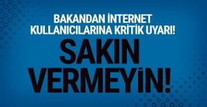 Cahit Turhan'dan internet kullananlara çok önemli uyarı!