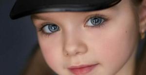 Dünyanın En Güzel Kız Çocuğu Seçilmişti.