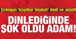 Erdoğan: Suudi istihbaratçı kaydı dinleyince şok oldu