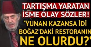 Fatih Altaylı'dan Kadir Mısıroğlu'na: Yunan kazansa idi restoran ne olurdu!