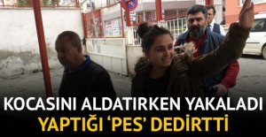 Genç kadın cezaevine gülerek girdi