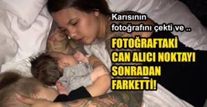 Karısının Fotoğrafını Gizlice...