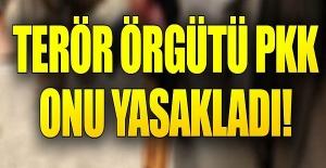 PKK'dan ilginç yasak