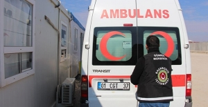 Suriye'den dönen ambulansta...........