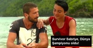 Survivor Sabriye'den Büyük Başarı: Dünya Şampiyonu Oldu!