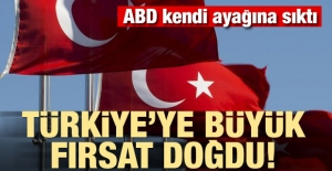 Türkiye için büyük fırsat doğdu
