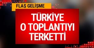 Türkiye İtalya'daki Libya Konferansı'ndan çekildi