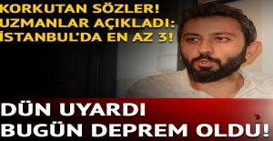 Uzmanlardan korkutan Marmara (İstanbul) depremi uyarısı.