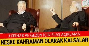 Cumhurbaşkanlığı'ndan Metin Akpınar ve Müjdat Gezen açıklaması