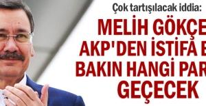 Hayırlı Olsun. Melih Gökçek AKP#039;den...