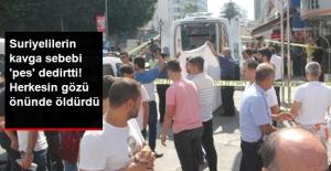 Suriyelilerin kavgası kanlı bitti!...