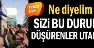 Antalya'da skandal Sizi bu duruma düşürenler utansın