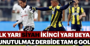 Nefes kesen Beşiktaş-Fenerbahçe derbisinde kazanan çıkmadı