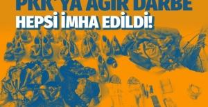 Şırnak'ta PKK'ya ağır darbe: Hepsi imha edildi!