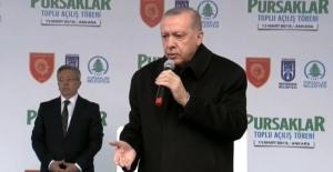 Cumhurbaşkanı Erdoğan, konuşmasını bölen kadına böyle kızdı!