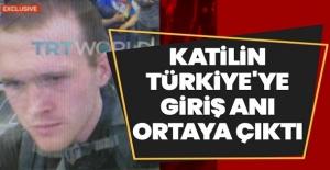 Erdoğan'ı mı takip ediyordu? İşte saldırganın Türkiye'ye giriş anı!