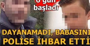 Dayanamadı Babasını Polise İhbar...