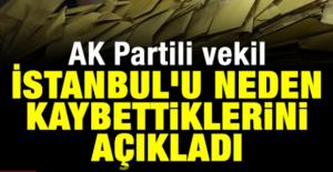 AK Partili Mustafa Yeneroğlu, İstanbul#039;u...